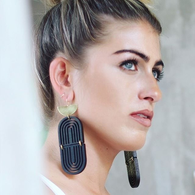 I break my instagram fast with the new Chimera Arc earrings! My new favorites. They make a statement and are incredibly lightweight. More newness to come…!!!