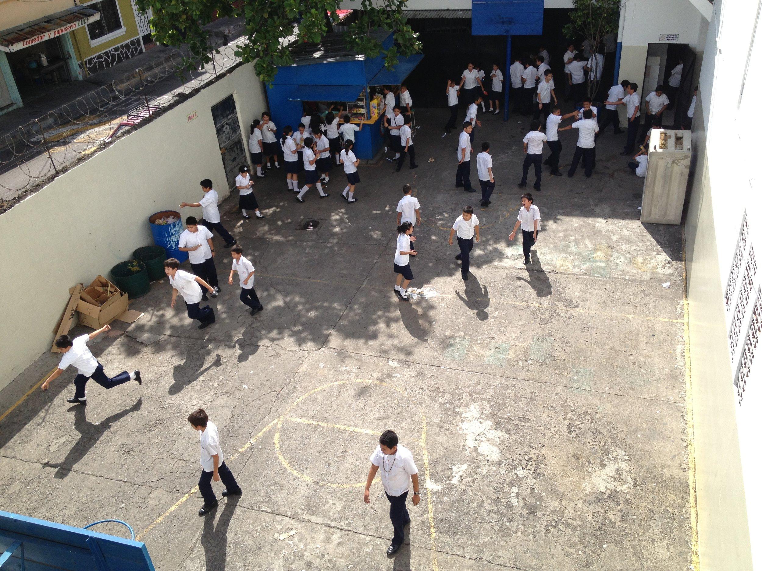 Recess in San Salvador