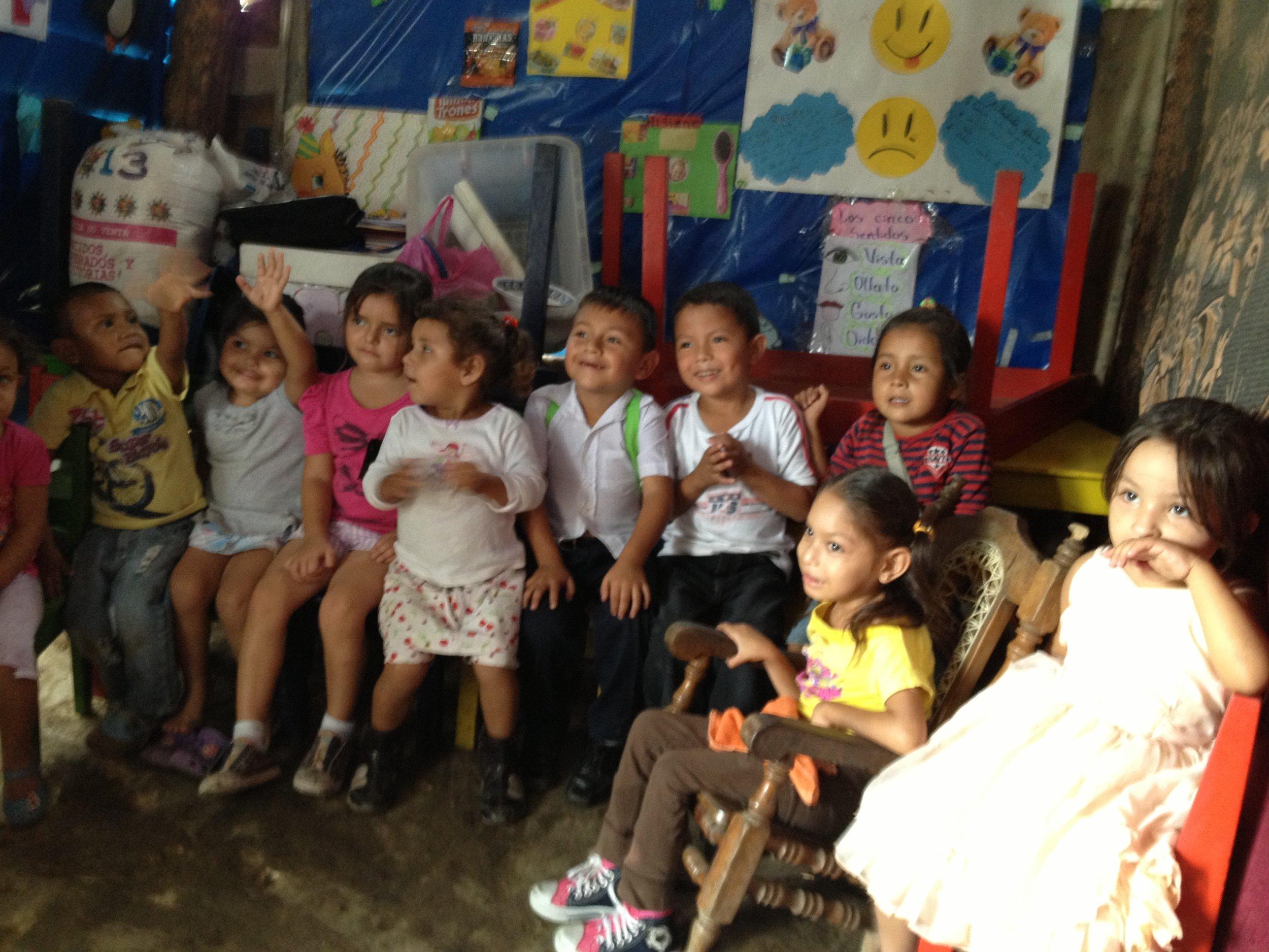 Community preschool Esteli, Nicaragua.