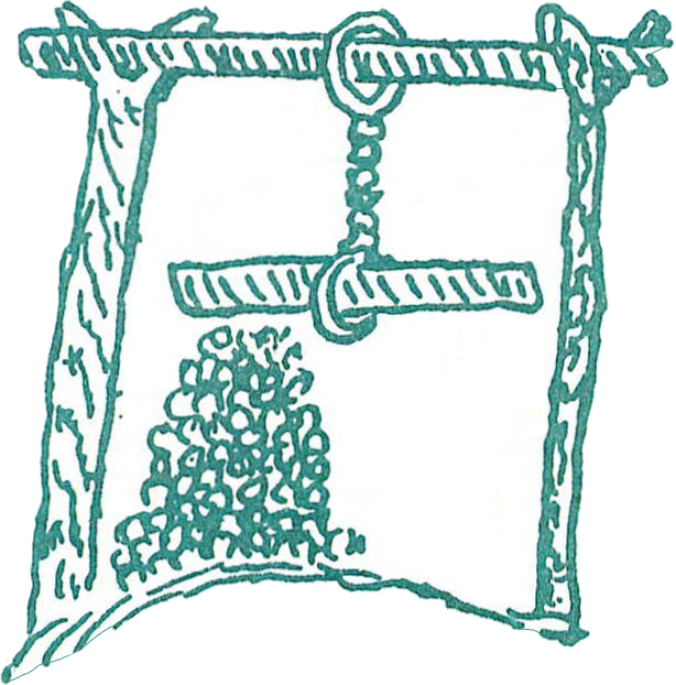 A weapon developed by the Pipil or the Xincas in Guatemala. A pile of rocks is situated beneath a stick suspended by a twisted rope. When the stick is let loose, the rocks are dispersed at a high velocity. Drawing from Fuentes y Guzman in  Recordacion Flo rida (Sociedad de Geografia e Historia, Guatemala)