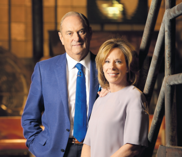 The 150 Leading Canadians for Mental Health initiative is being co-chaired by Sandi and Jim Treliving  Photo via CAMH .