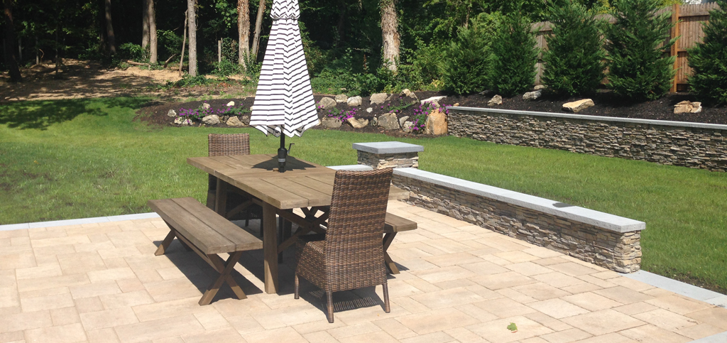 landscaping to create more livable room in Massapequa and Hauppauge, NY