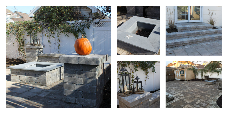 landscape project with after photos in Atlantic Beach, NY