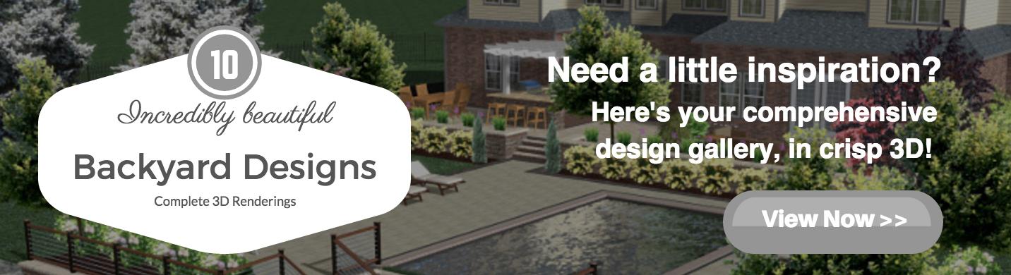 Incredibly Beautiful 3D Backyard Designs in Massapequa and Hauppauge, NY