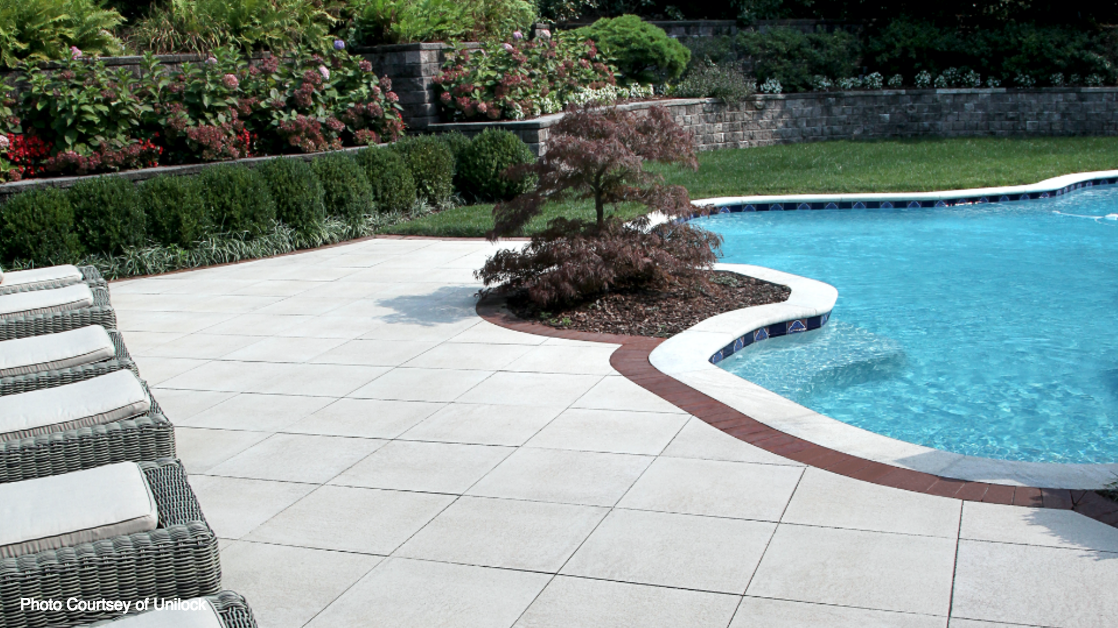 swimming pool patio landscaping in smithtown and massapequa Long Island, NY
