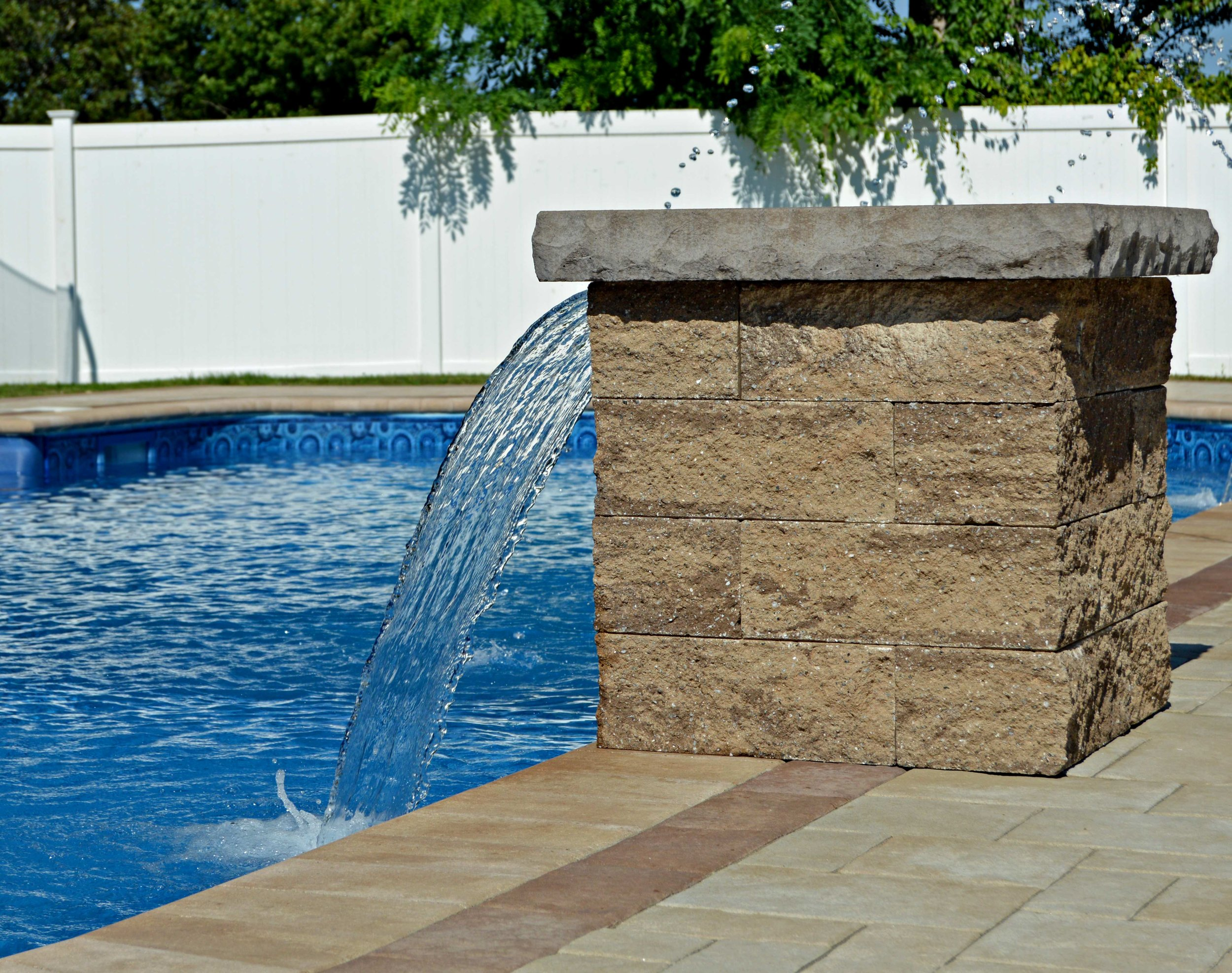 traditional swimming pool design in Smithtown, NY