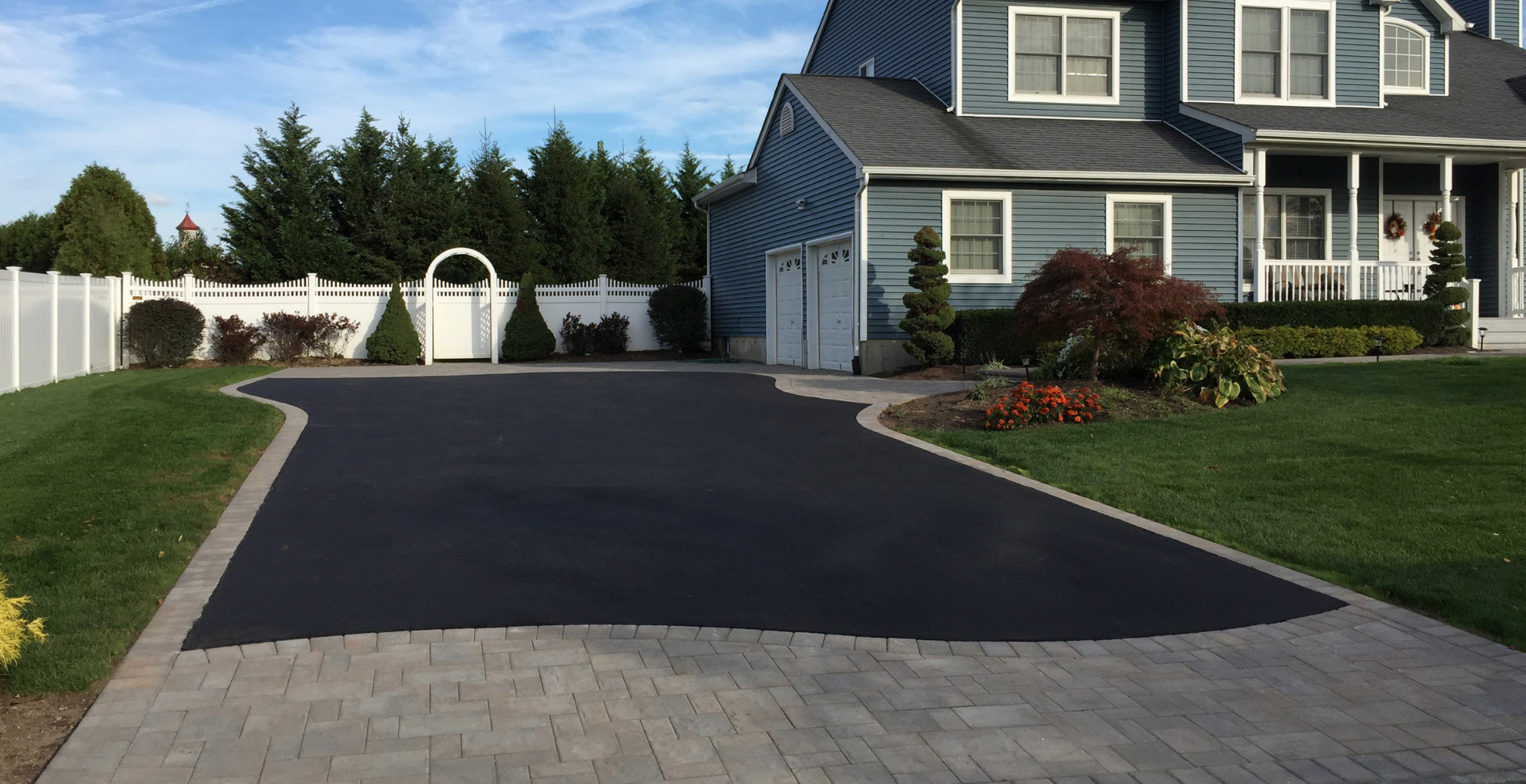 driveway skirt in long island, NY