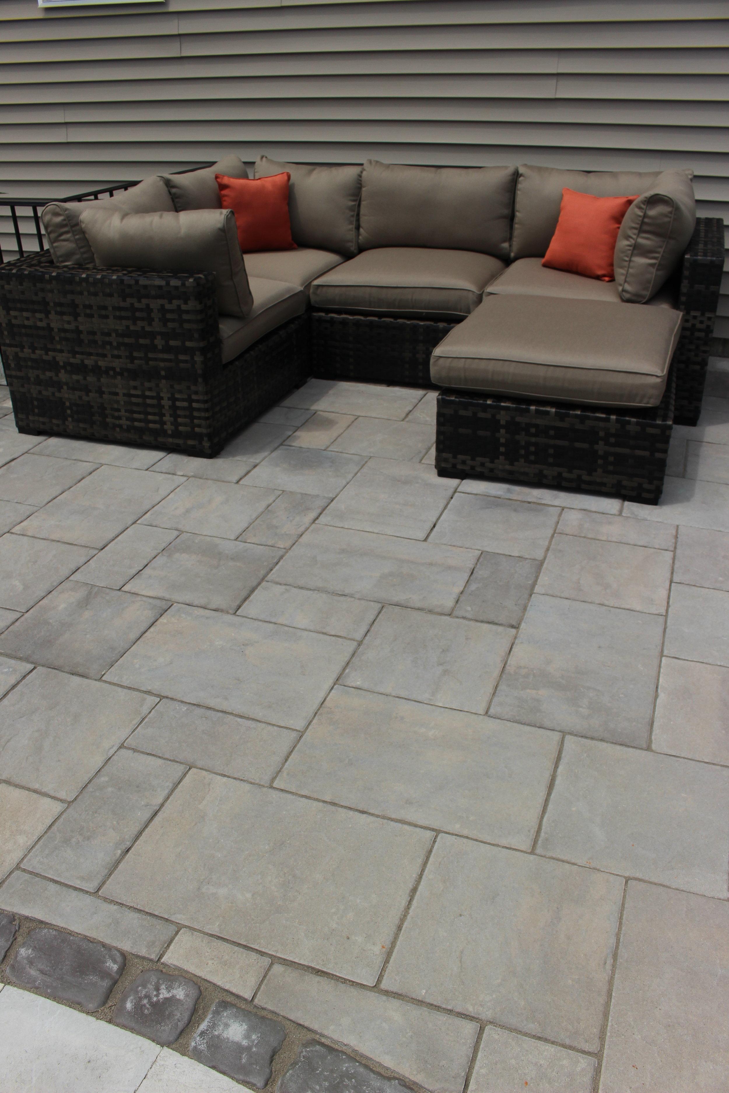 Massapequa, NY Unilock patio