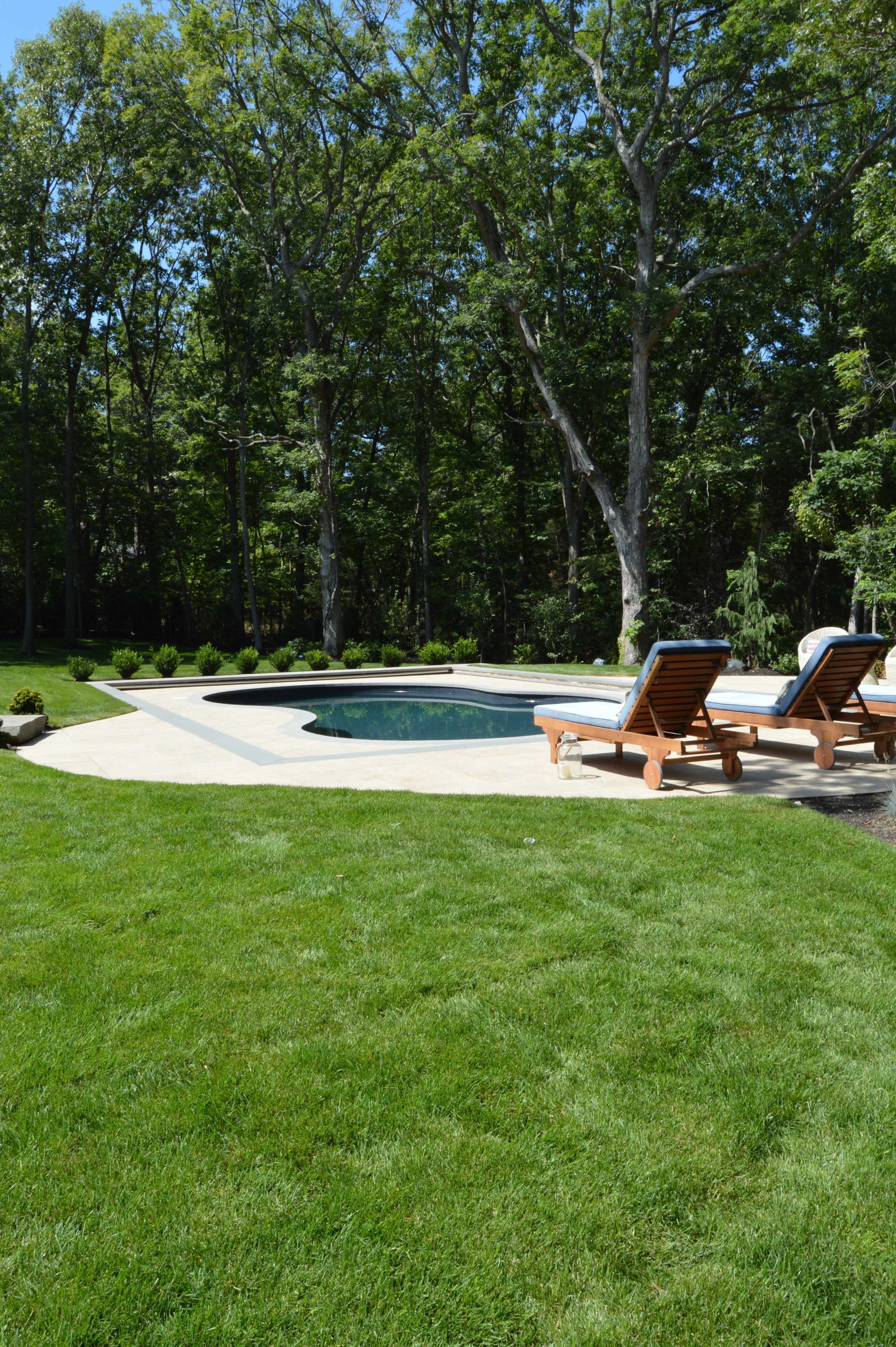 swimming pool patio in Port Jefferson, NY