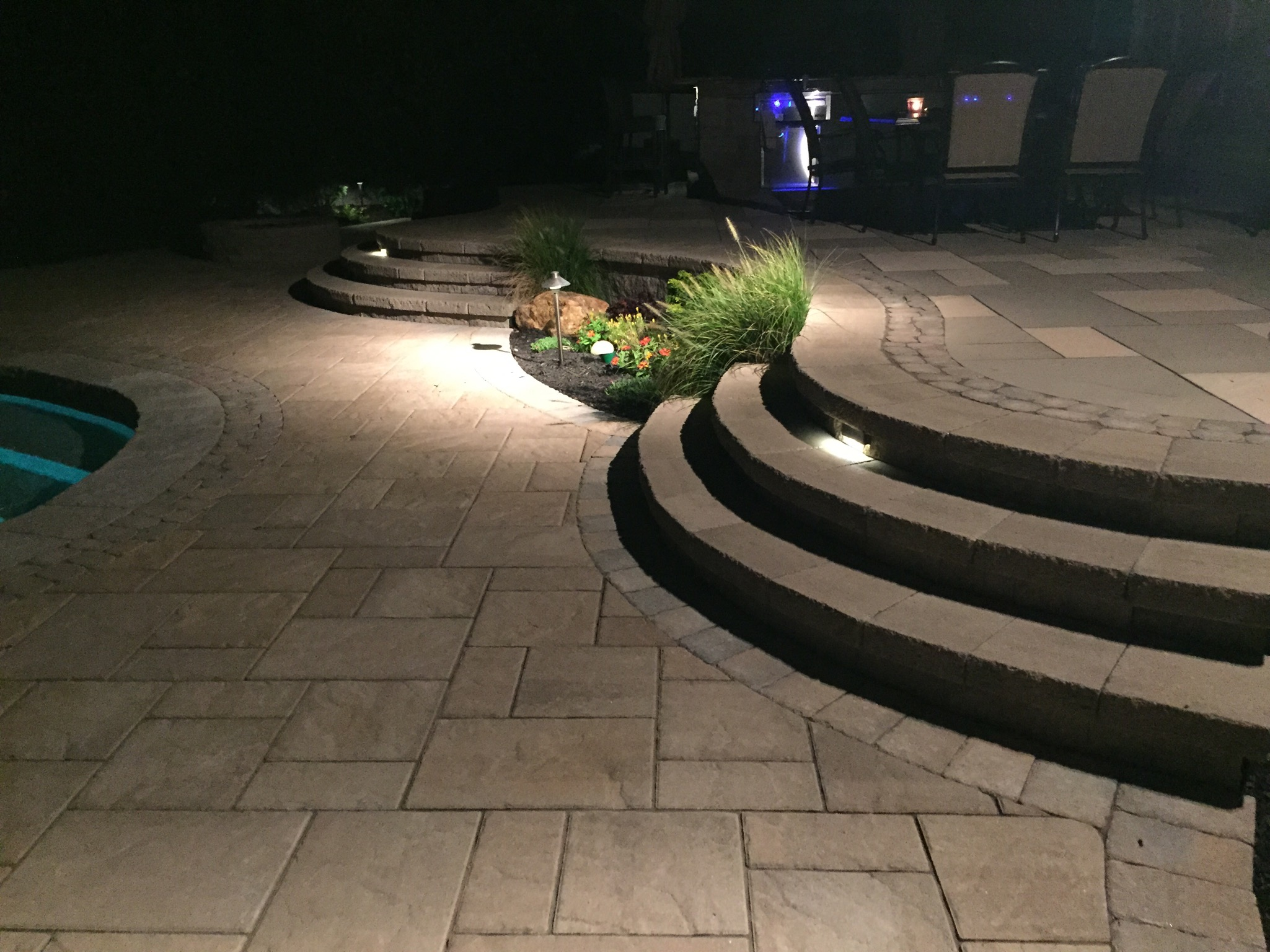 outdoor lighting patio in Smithtown, NY