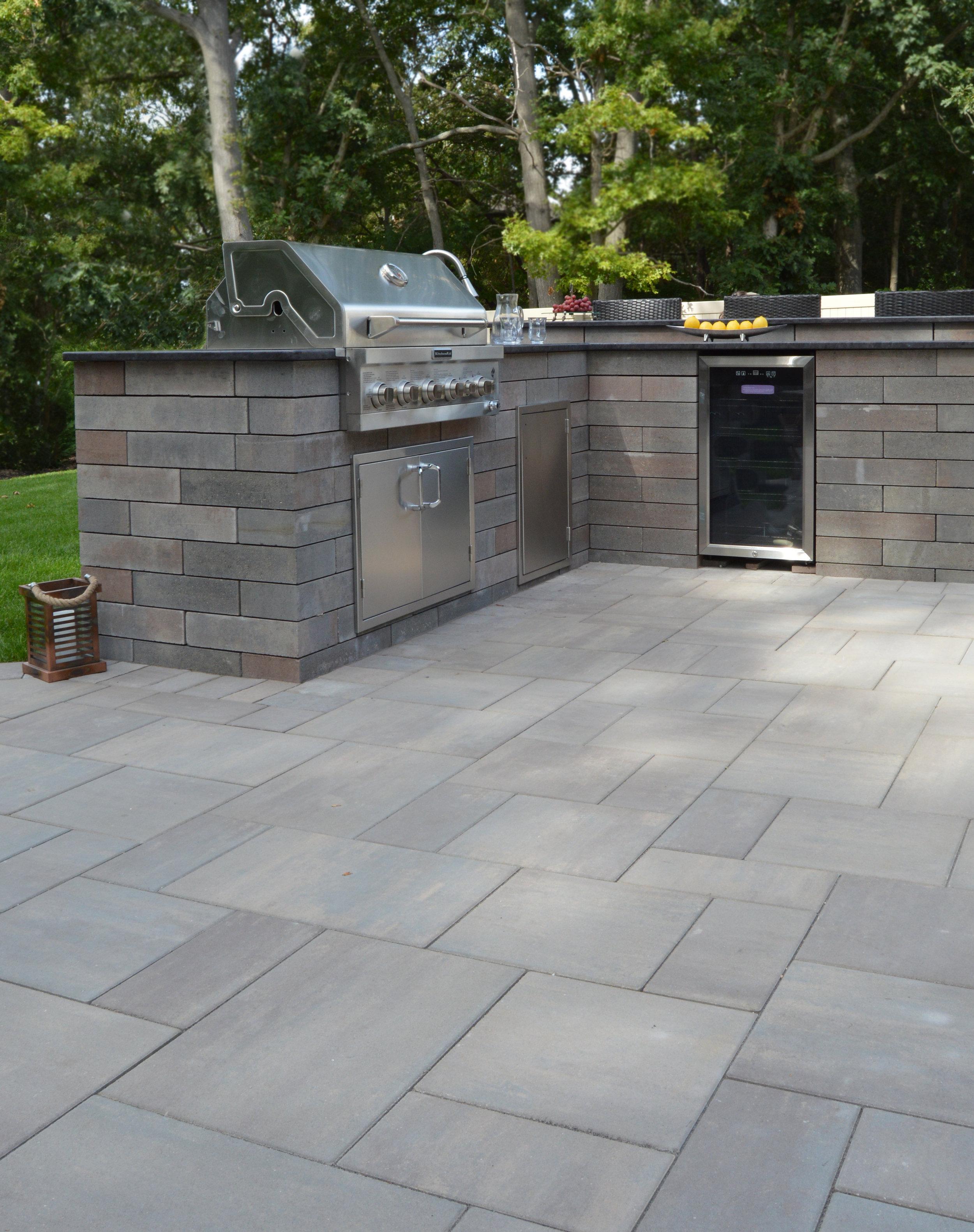 Nesconset, NY outdoor kitchen