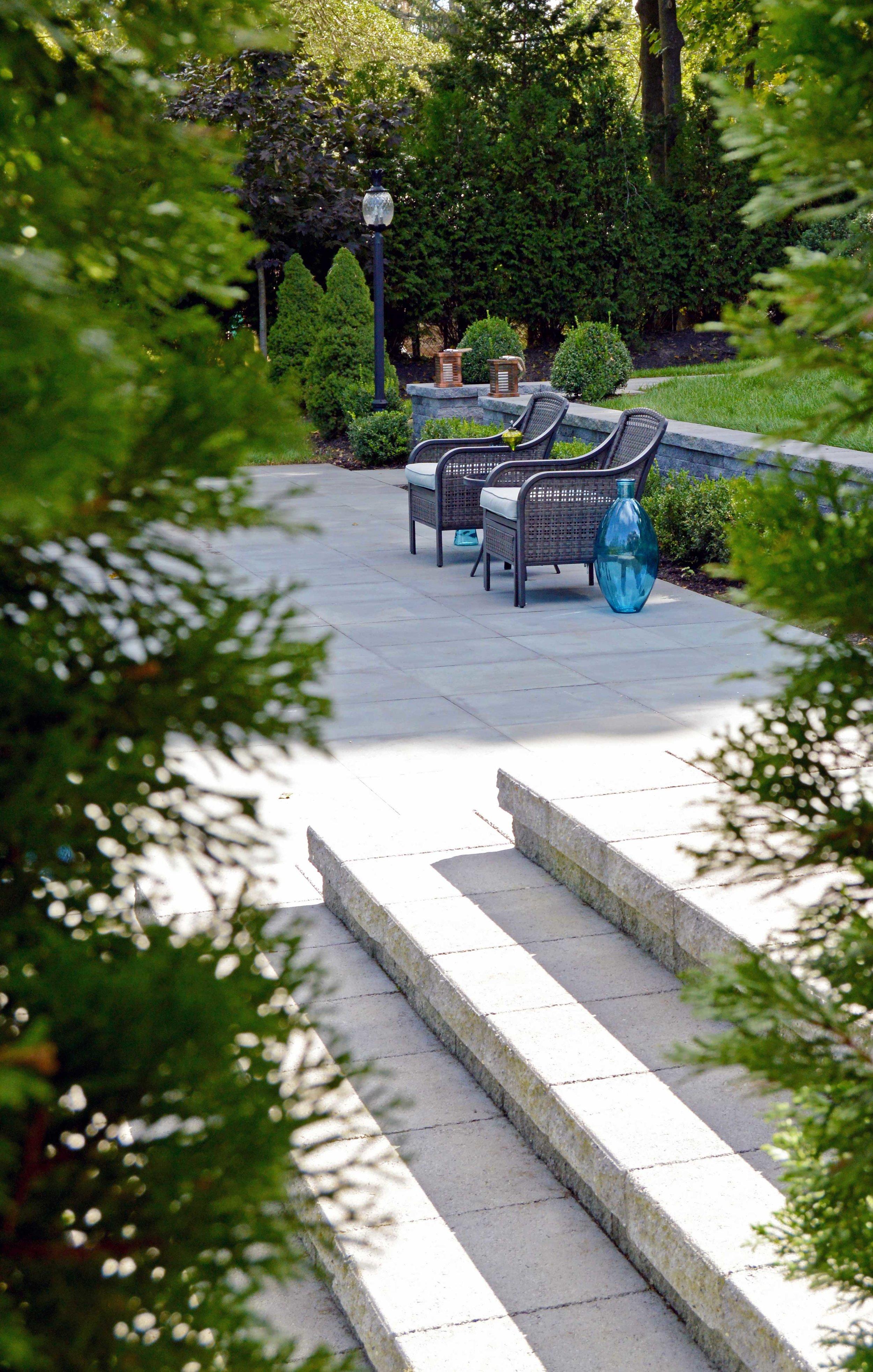 Northport, NY modern patio