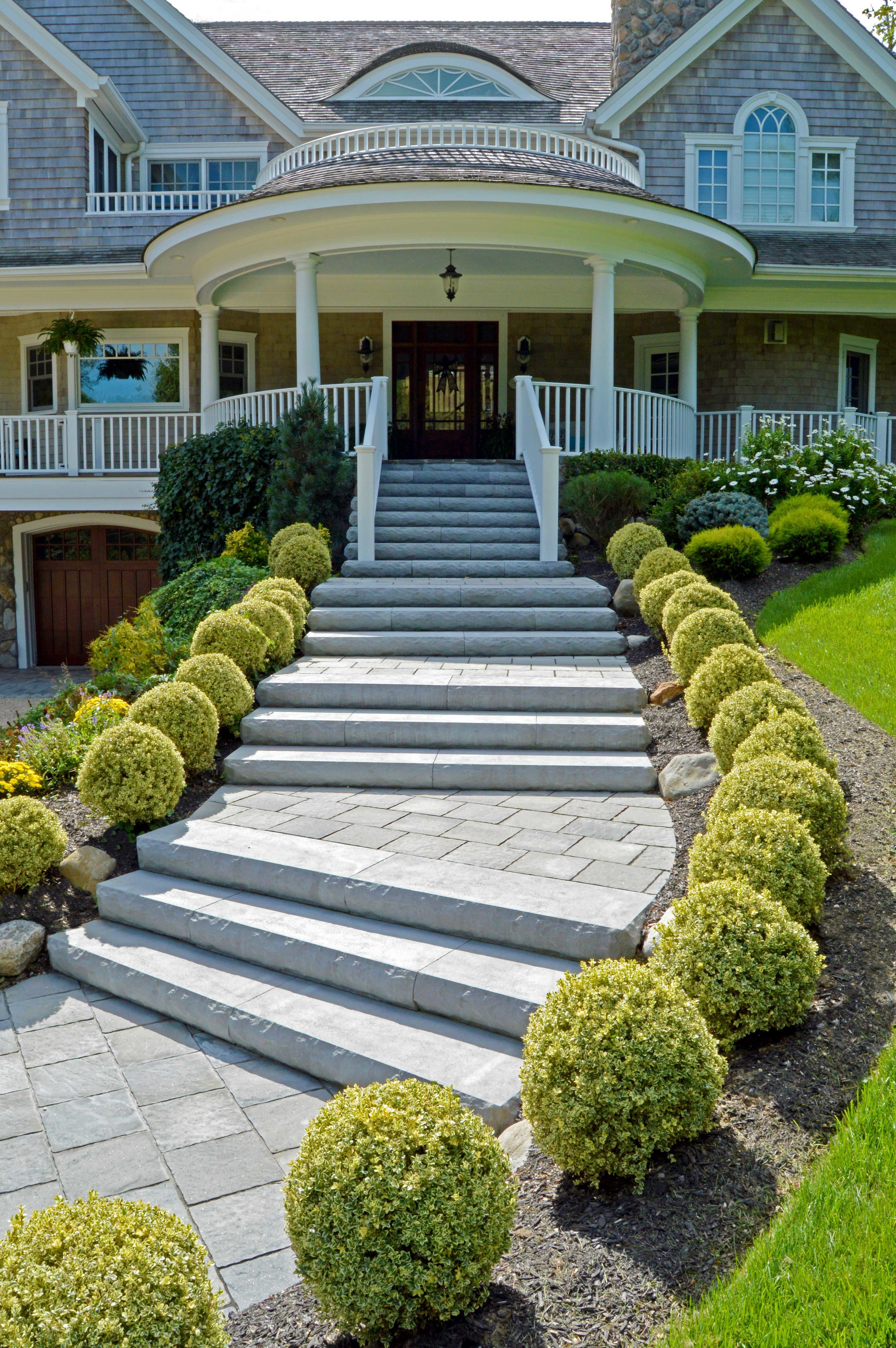 natural steps for a Northport, NY home