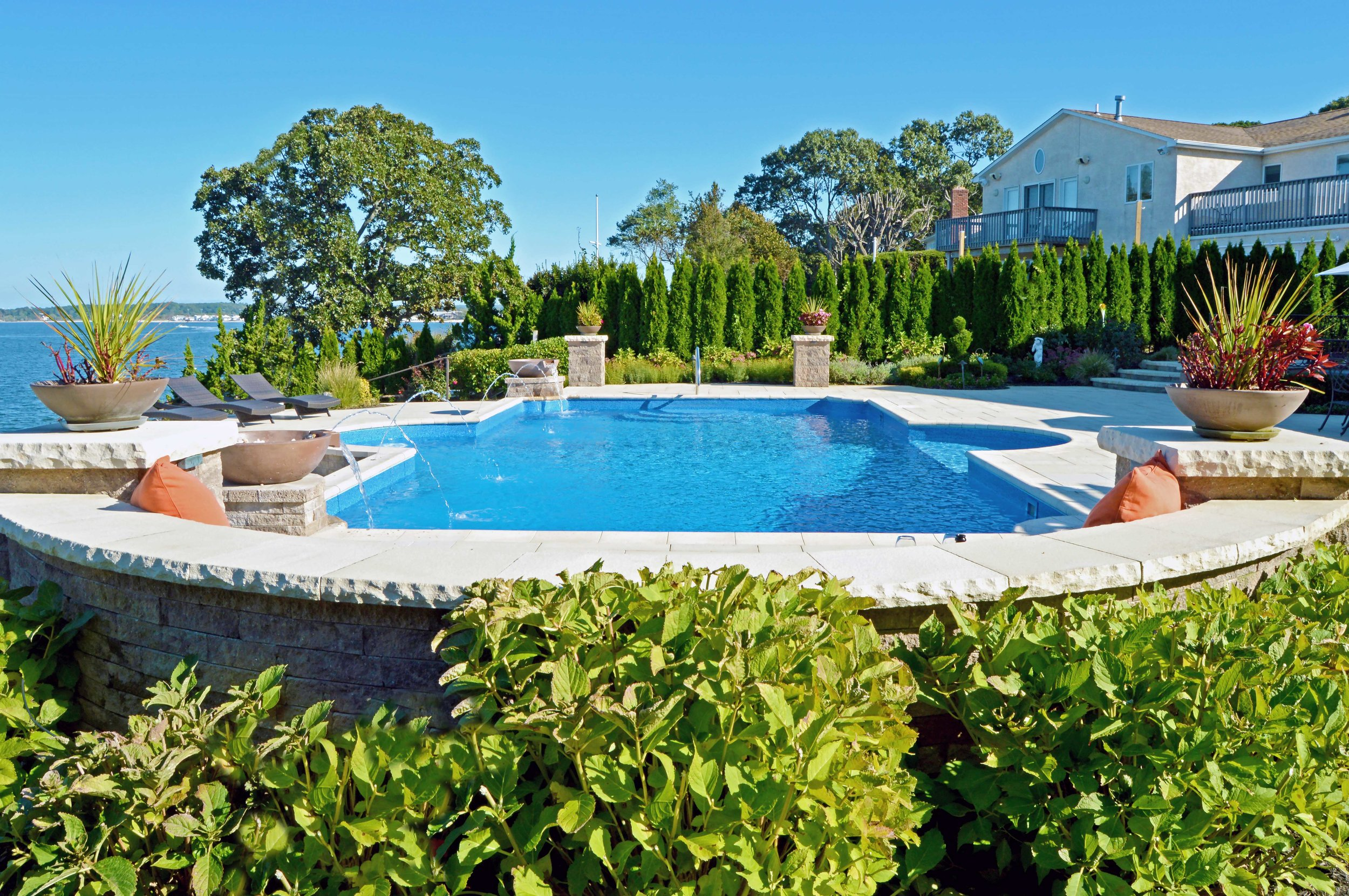 5 Stunning Long Island Swimming Pool Design Ideas Above All Masonry