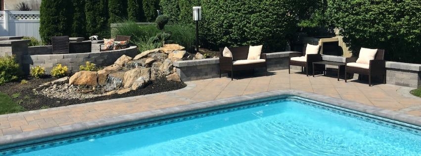 Introduce Natural Stone Features into your Landscape to Correct these Design Flaws in Hauppauge, NY