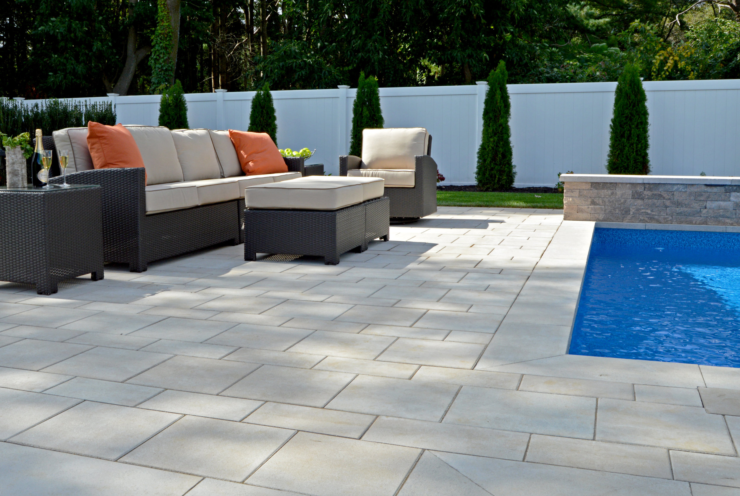 Smithtown, NY patio design