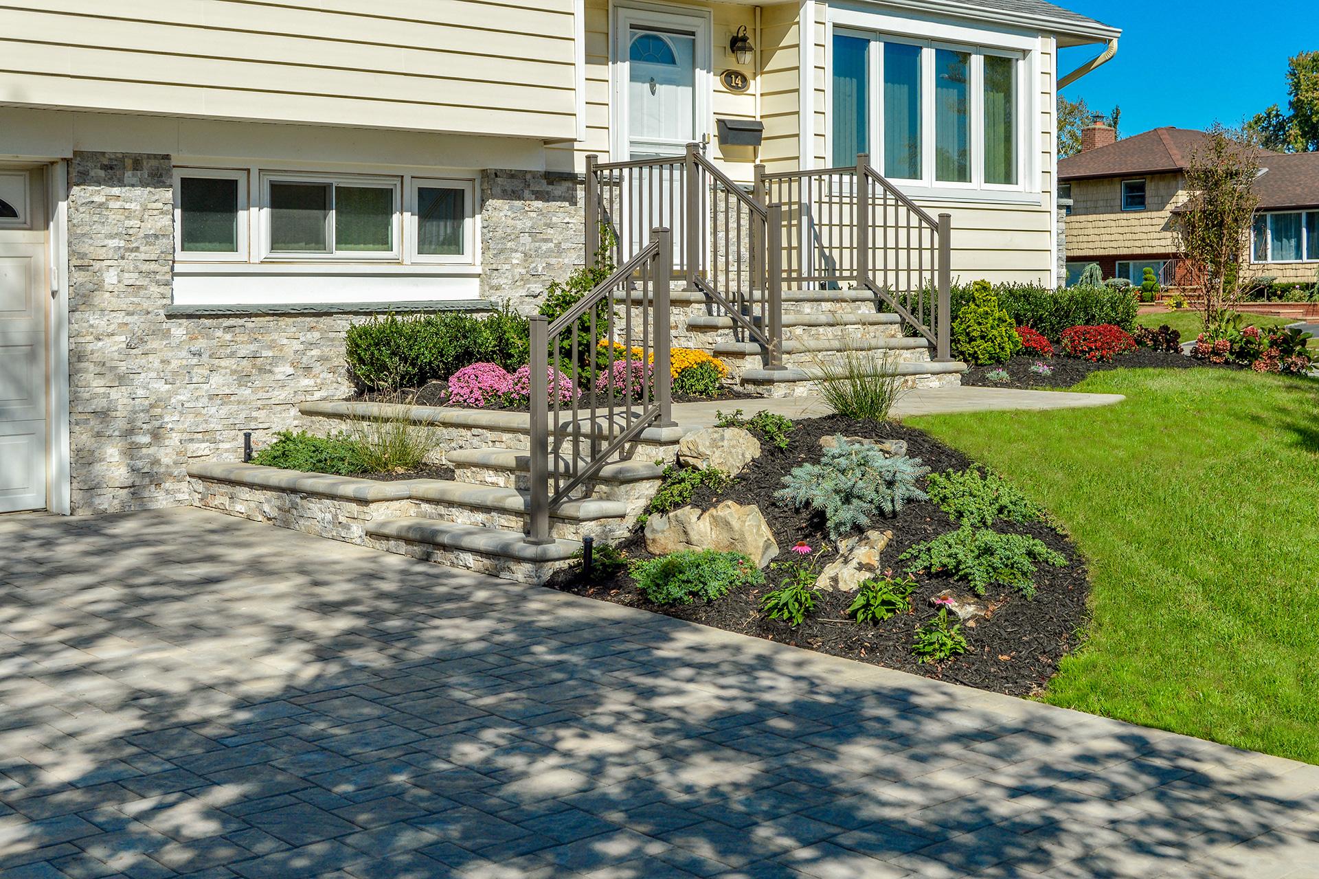 Front Entrances Landscape Design Landscape Lighting Commack Ny