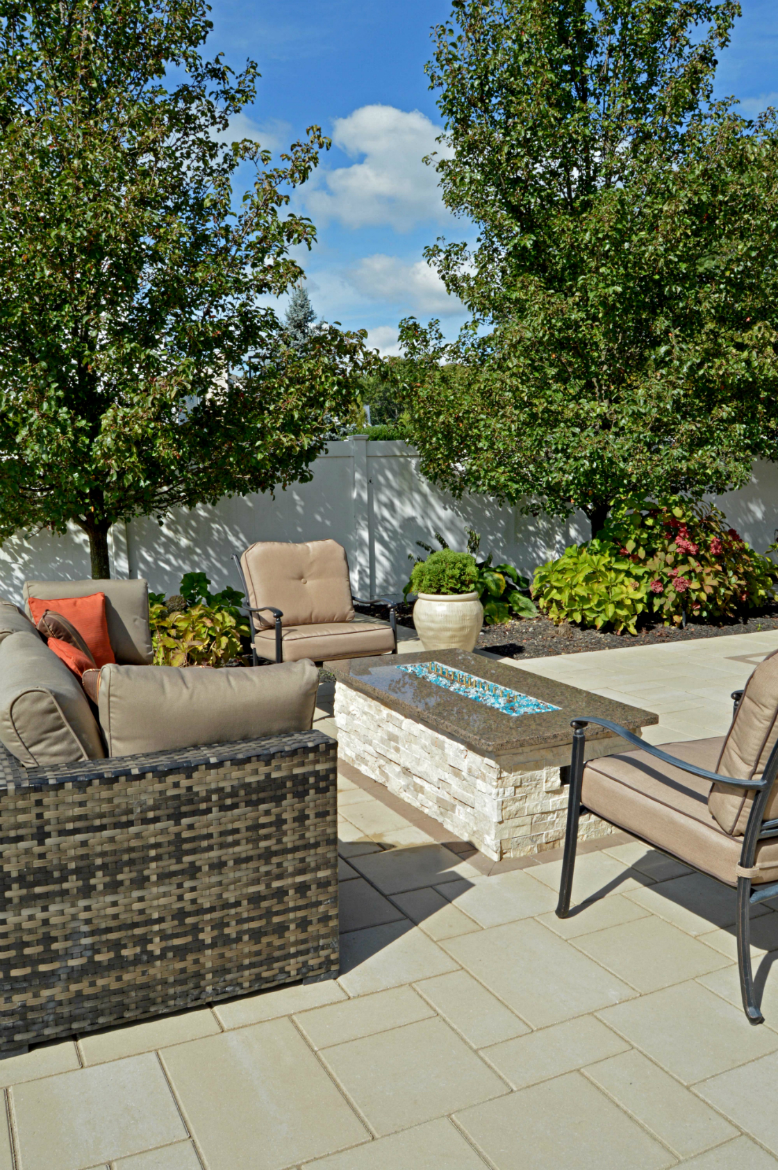 Winter-Friendly Backyard Designs for your Plainview, NY, Home