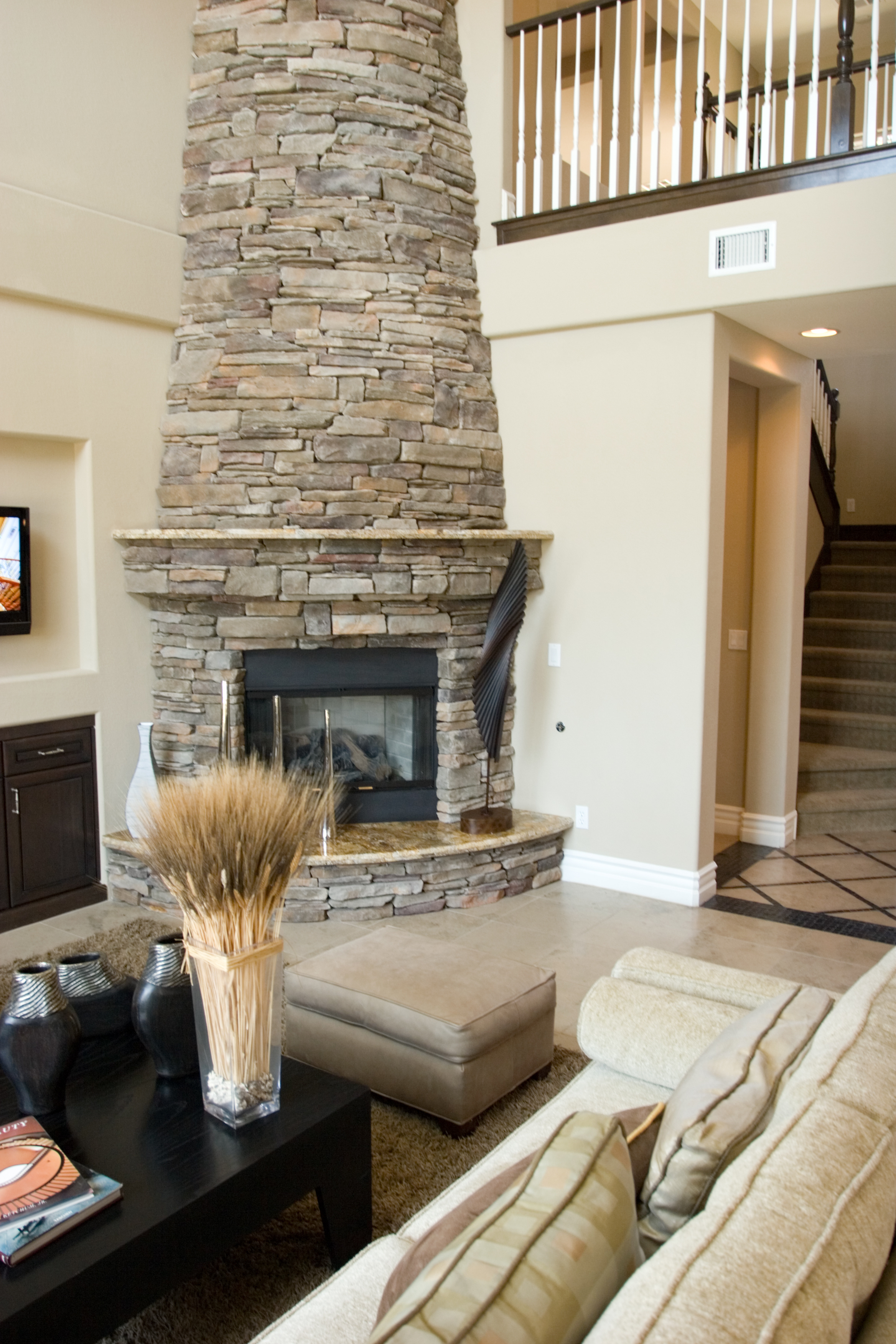 Matching a Masonry Fireplace to Your Home's Interior in Syosset, NY