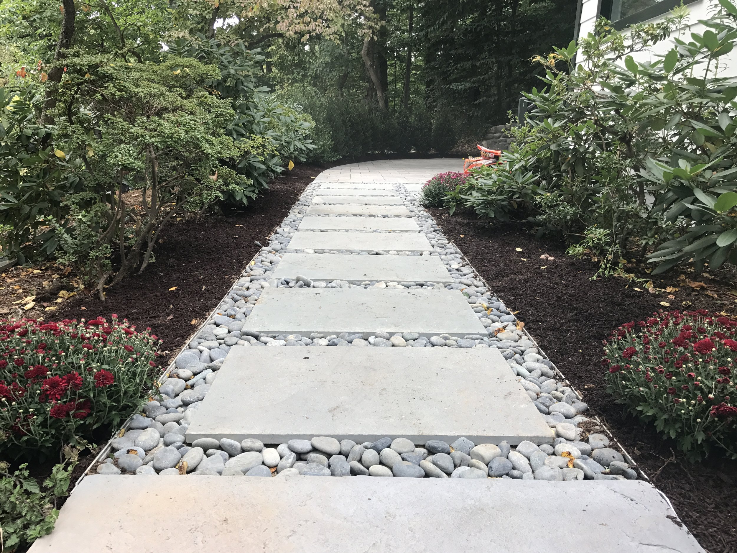 Add Style to Your Paver Patio and Walkway with Pebbles and Rocks in Melville, NY