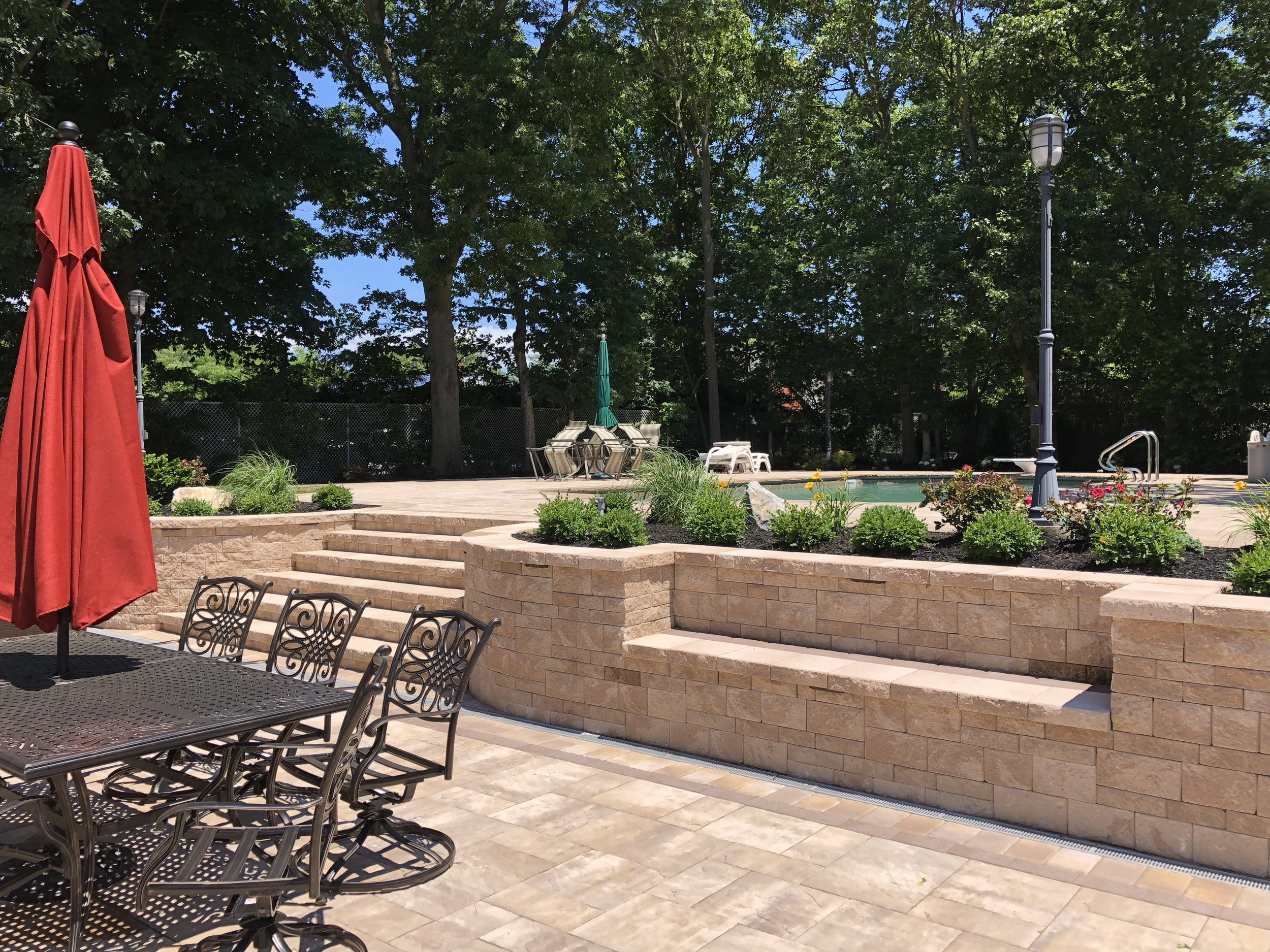 Landscape Lighting Plan for Your Huntington Station, NY, Steps and Stairs