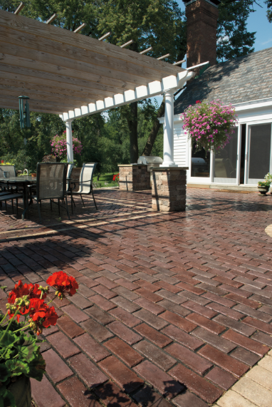 Using Permeable Pavers in Hicksville, NY, Patios