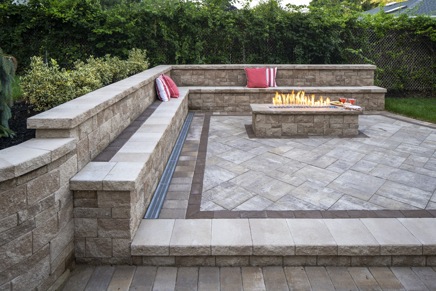 Top outdoor fireplace Huntington Station NY