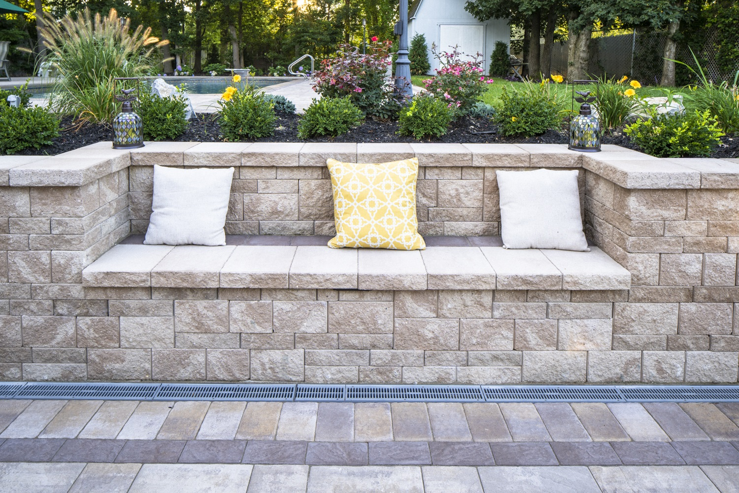 Stunning landscape design in East Northport NY