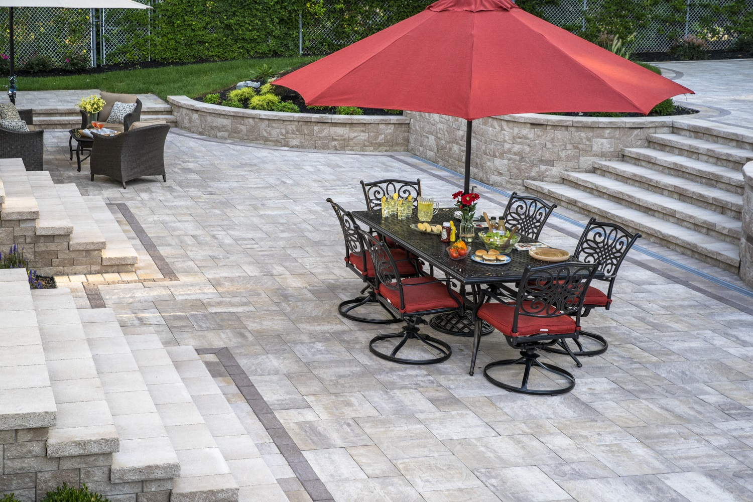 Landscape design with stunning patios in Hicksville NY