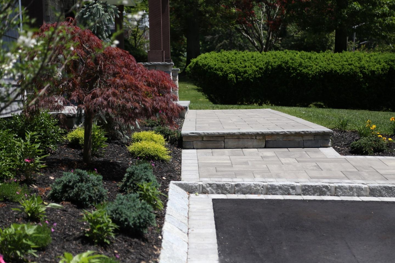 Front entrance - landscape Commack NY