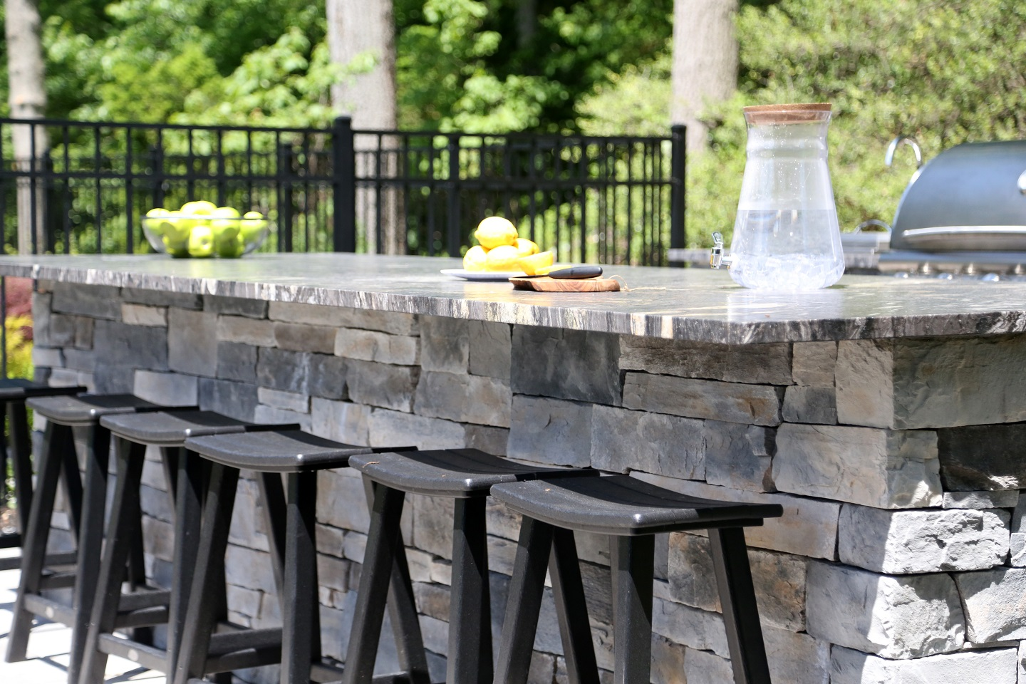 Patios with outdoor kitchen in Commack NY