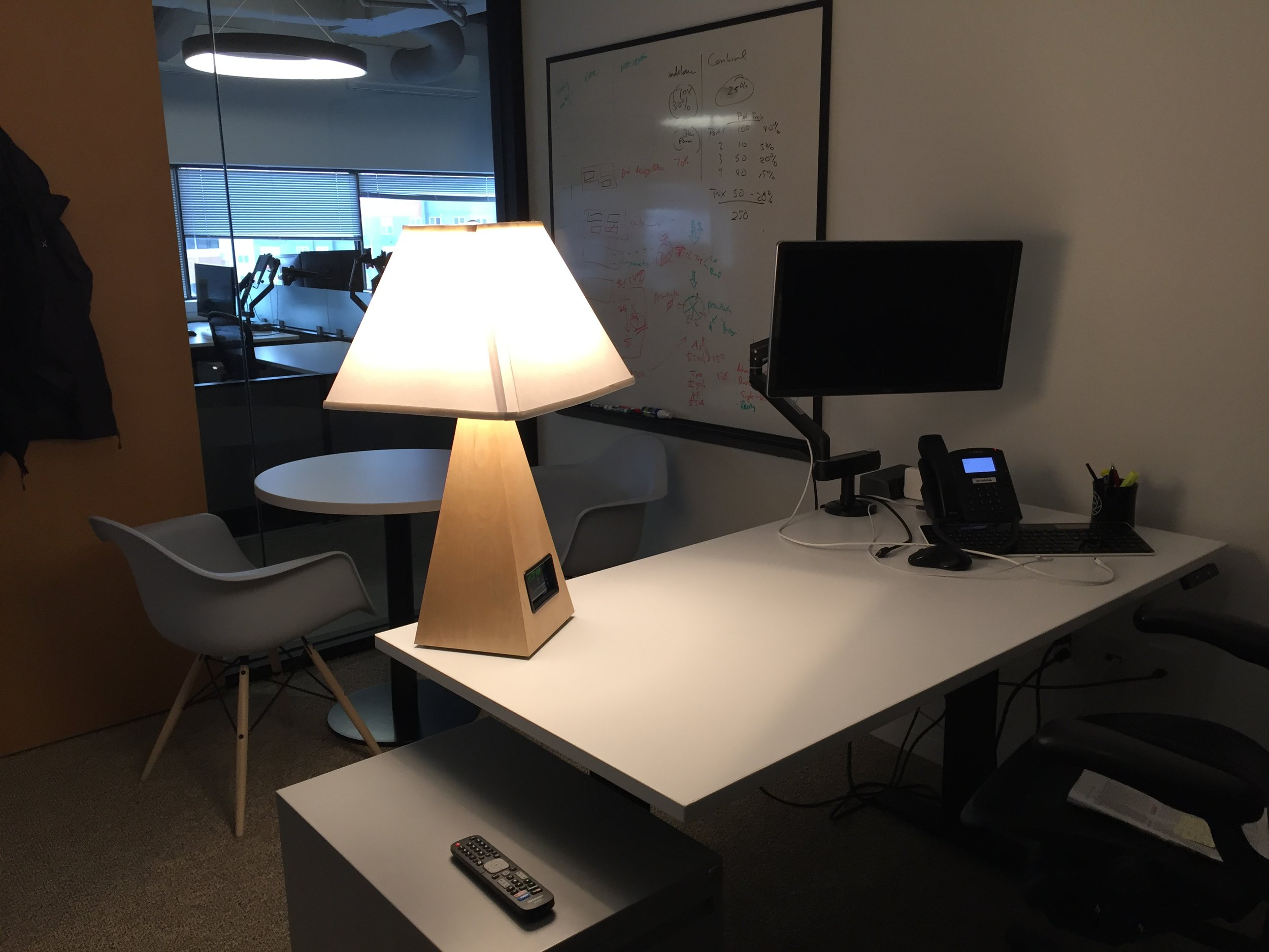 """""""The Purillume lamp provides a stunning light quality and helps to boosts alertness when my energy is low – definitely outshining the existing overhead fluorescent lighting.""""  - M. Mehta"""