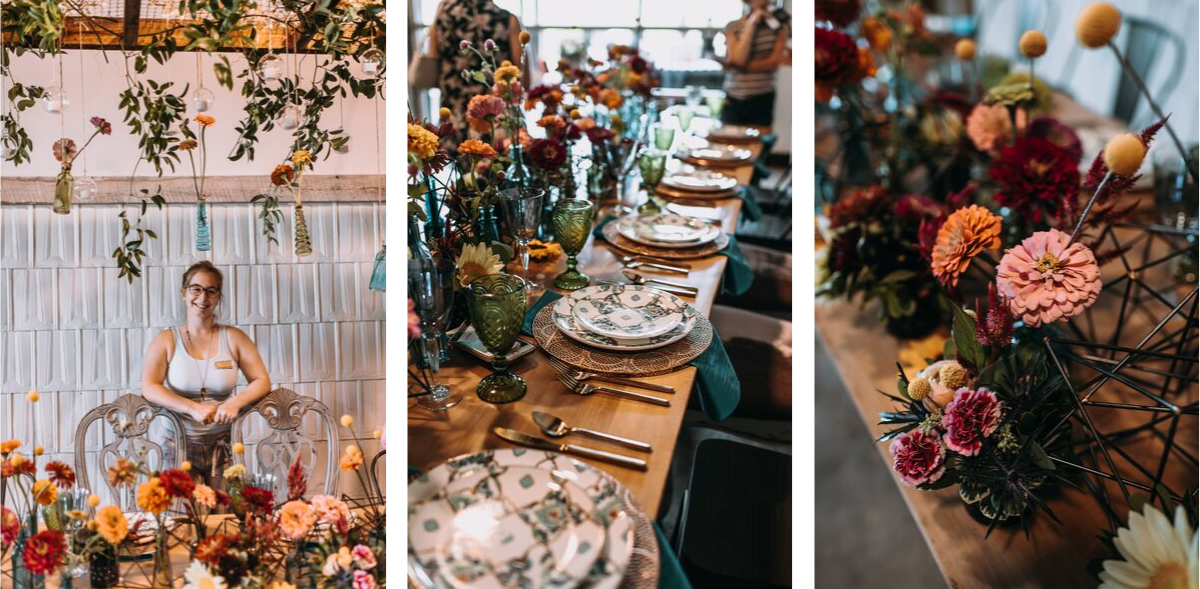 By Colette Photo x Petal + Oak Speciality Rentals and Floral Design