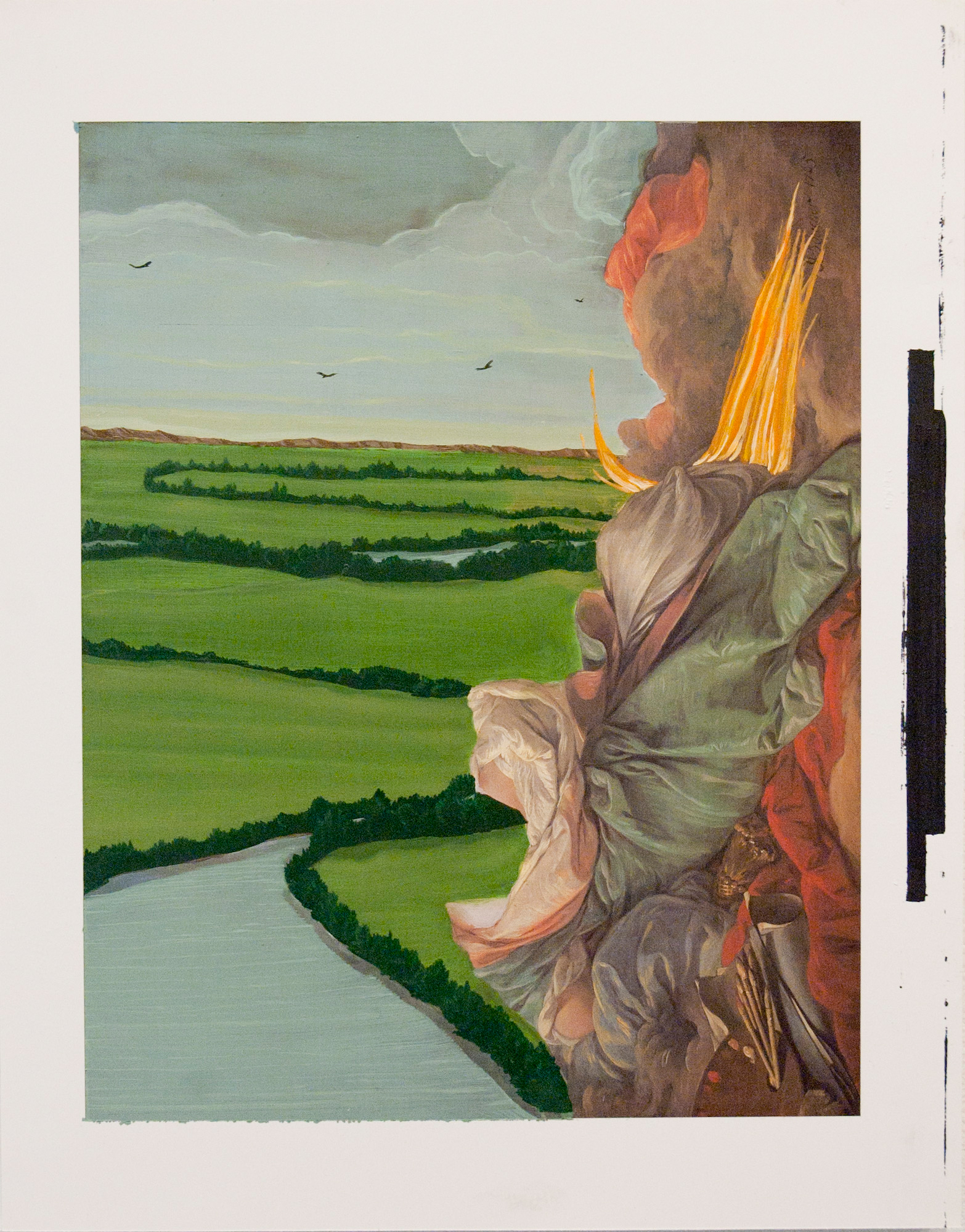 Mann.Study for View From Drapery_ 14x11in_ mann_oil on reproduction on panel20121.JPG