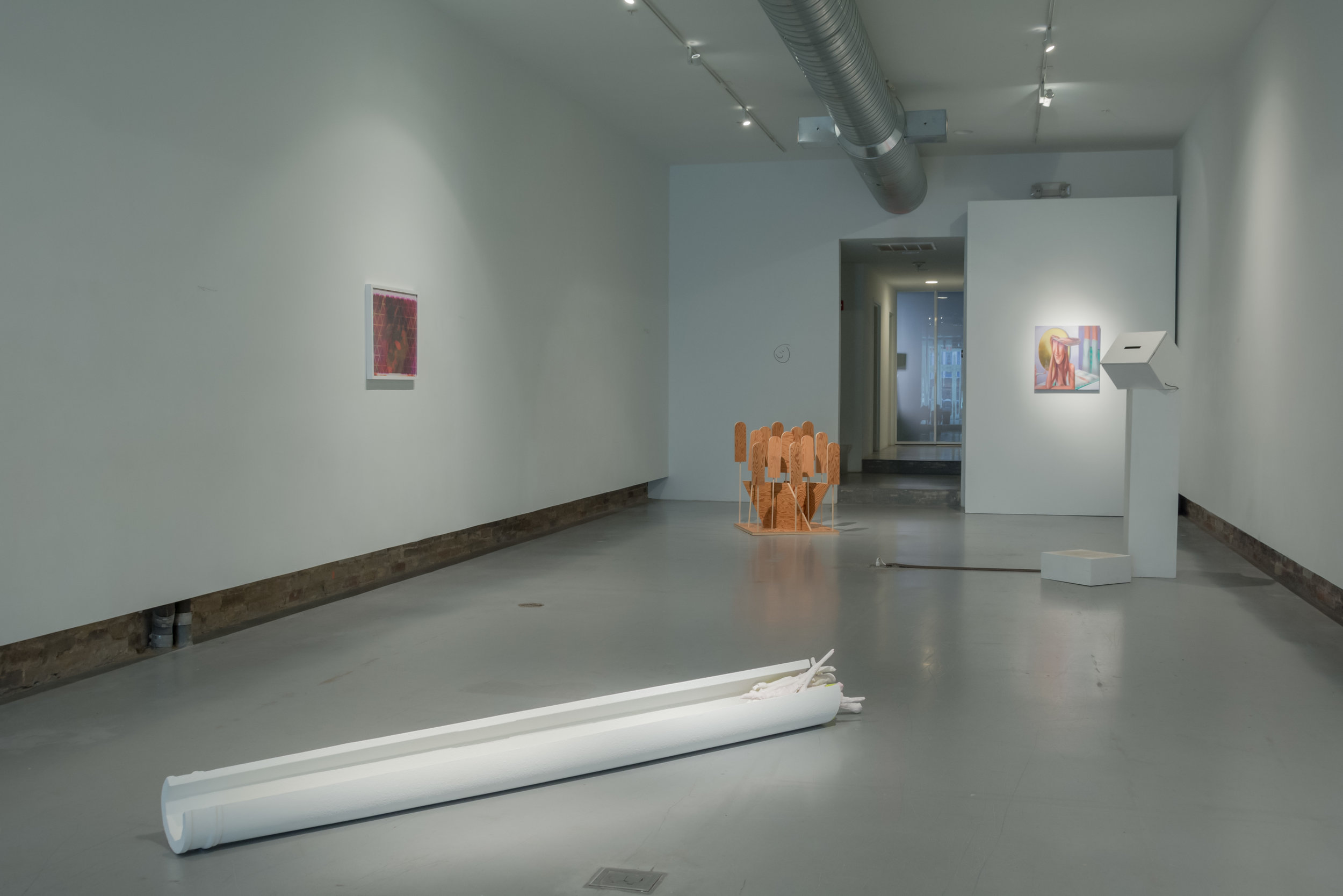 """""""It's Still All Up To You"""" (installation view)"""