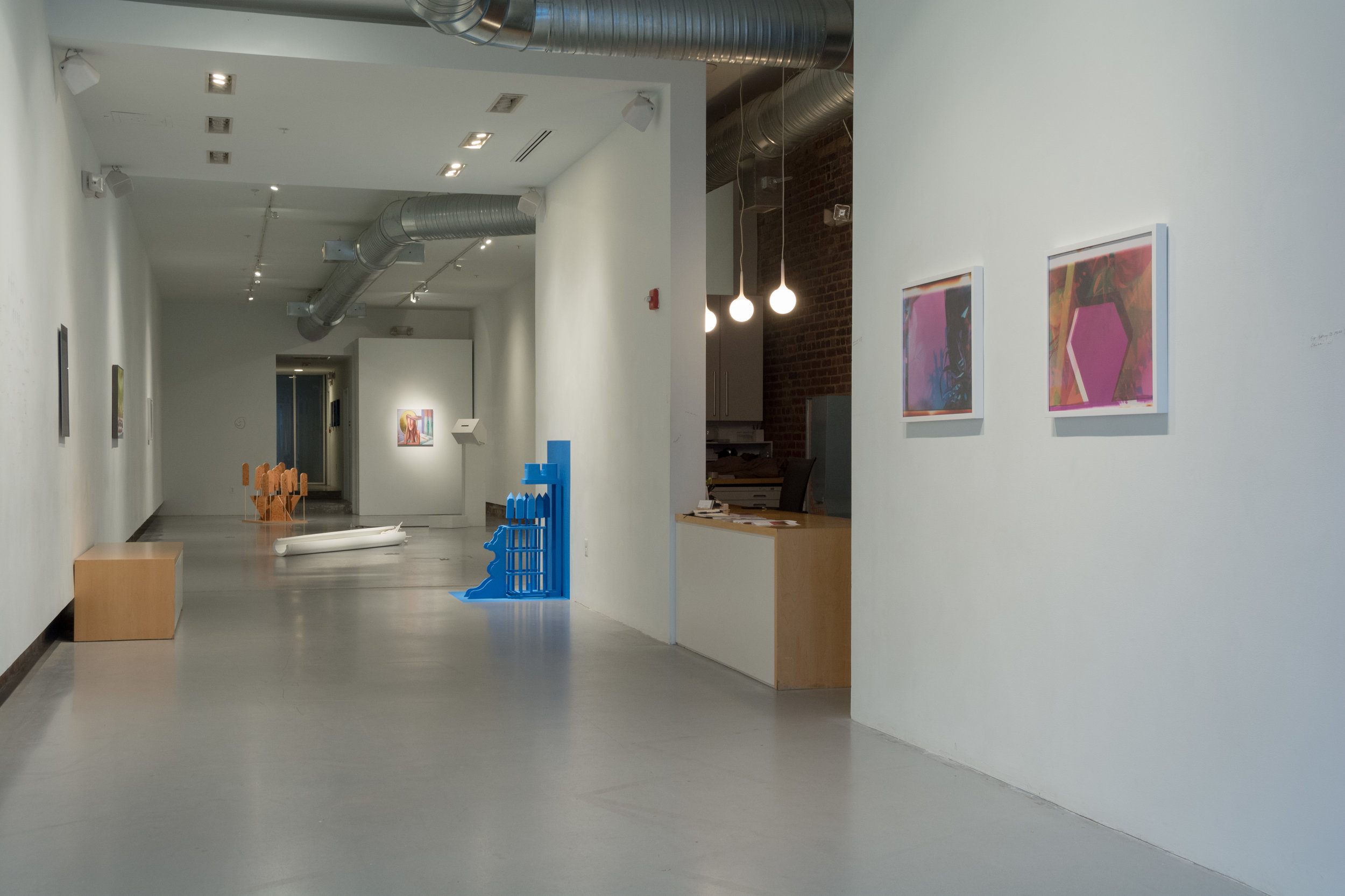 """""""Fellows Converge: It's Still All Up To You"""" (installation view)"""