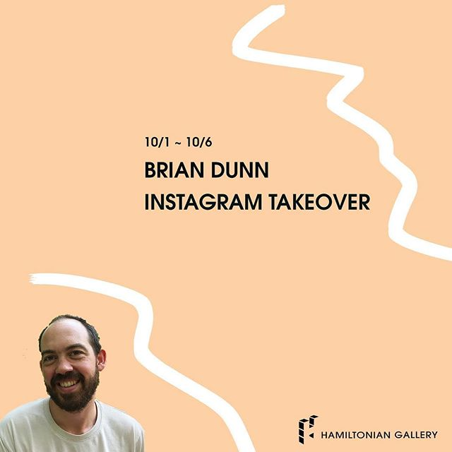 Thank you @bitterbittersalt for you takeover last week! Welcome new Hamiltonian Fellow @brianmichaeldunn! He will be running our Instagram feed this week. Take it away Brian!  _____________________________________ #artisttakeover #contemporaryart #painting #dcarts #hamiltonianartists