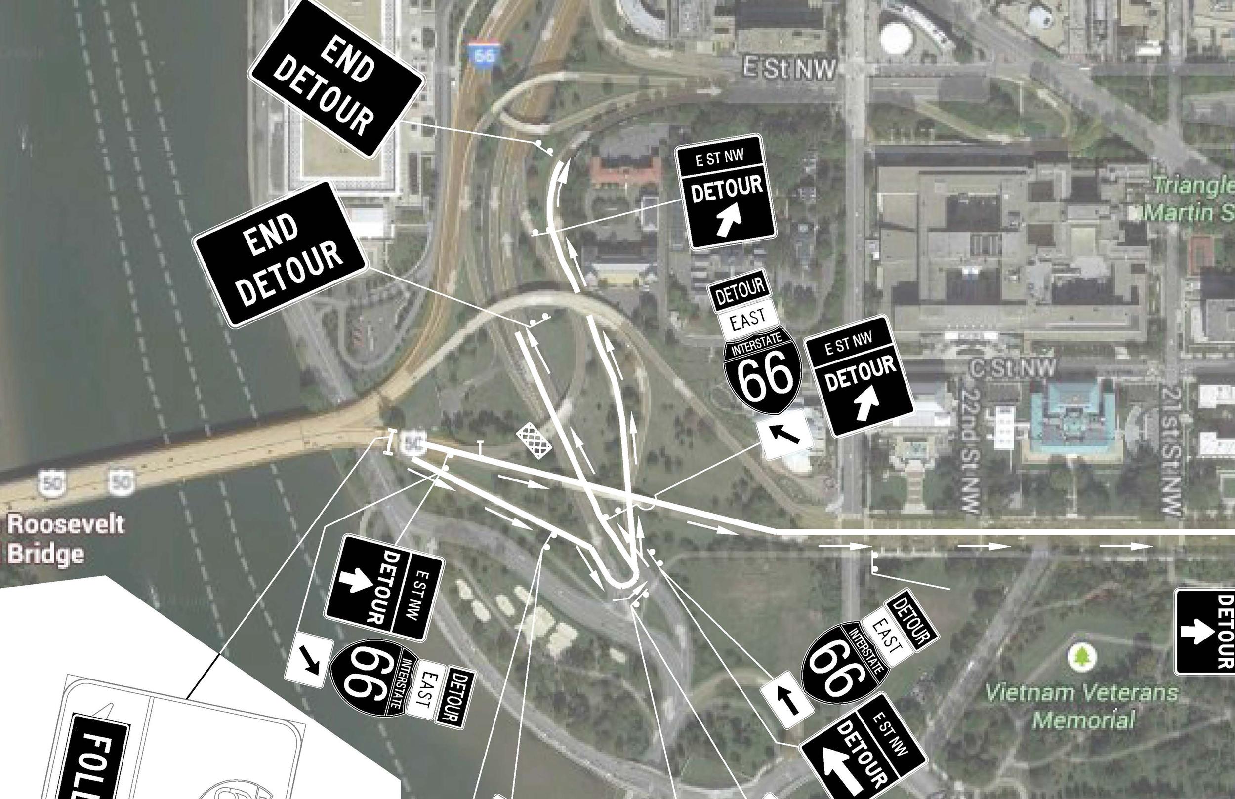 Construction and Event Detours