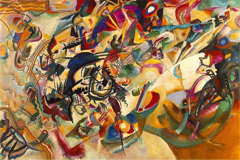 Wassily Kandinsky Composition vii