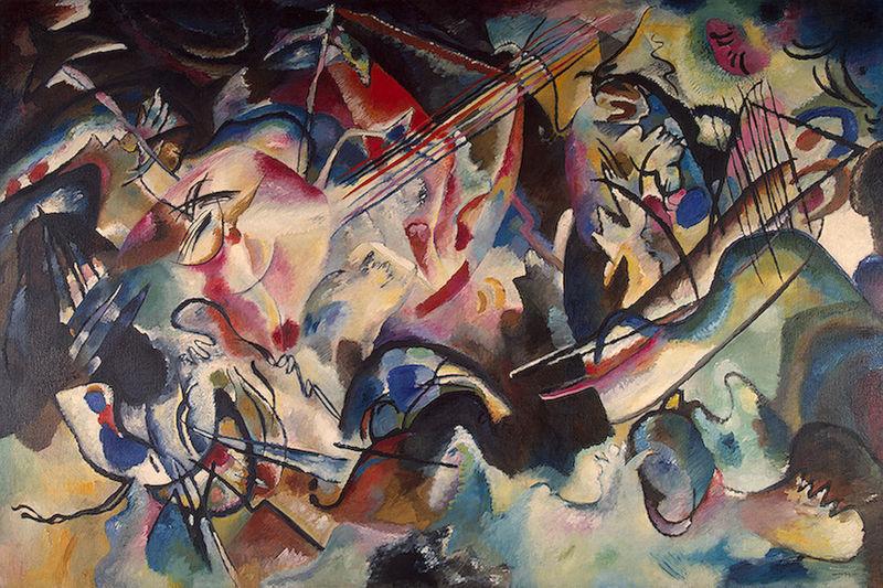 Wassily Kandinsky Composition vi