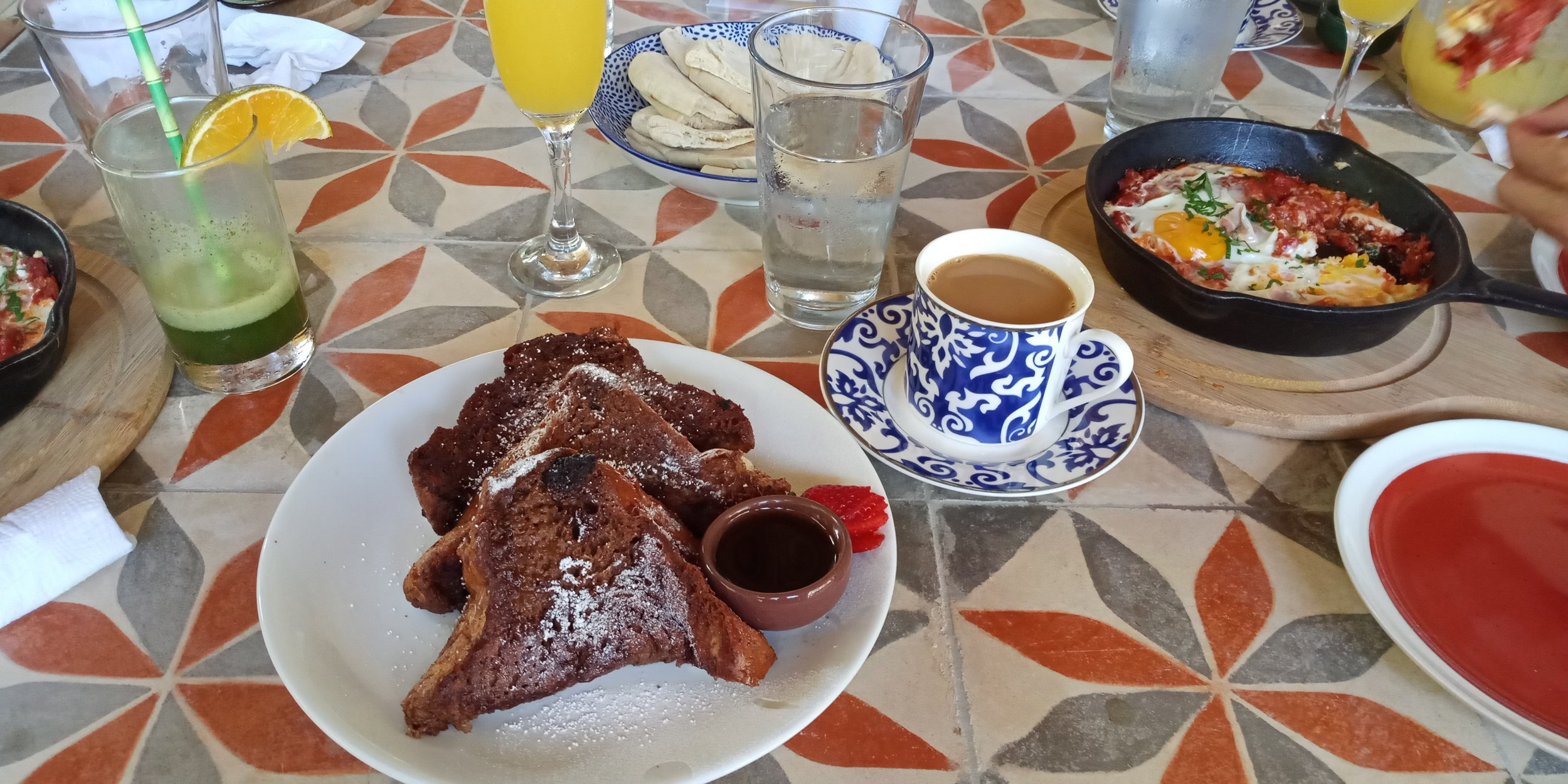 CHALLA FRENCH TOAST + COFFEE