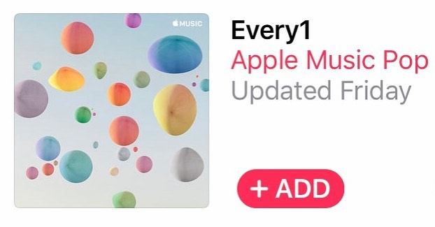 """Thanks so much @applemusic for including my song Born Again on  your """"Every1"""" Playlist! 🔥 https://apple.co/31SQaFp"""