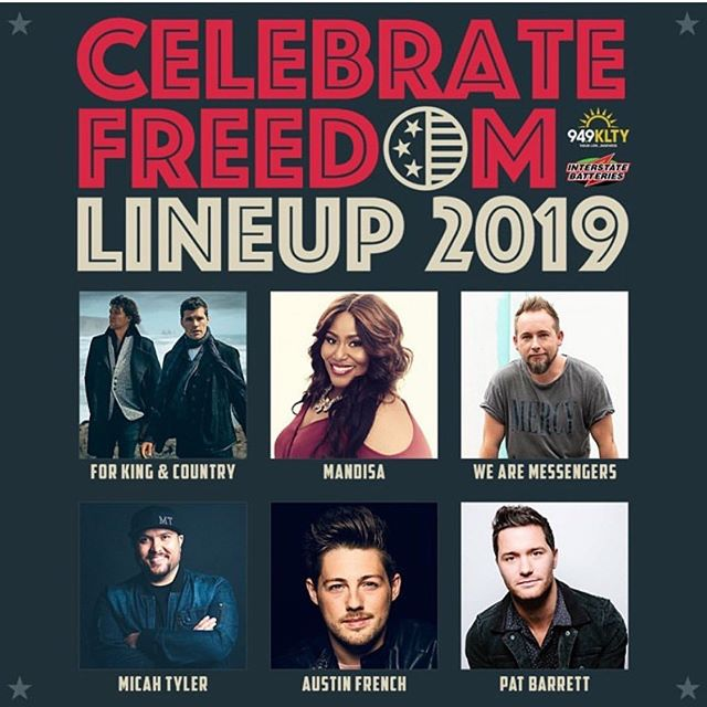 Oooooooo TEXAS!! Here we come! June 29th let's do this! Come see me and my friends at the @txmotorspeedway this weekend! @forkingandcountry @mandisaofficial @wearemessengers @micahtylermusic @patbarrett @949klty