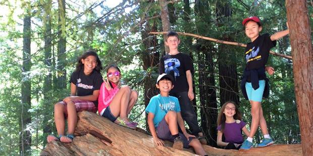 WOLF School Santa Cruz Overnight Summer Camp 2017