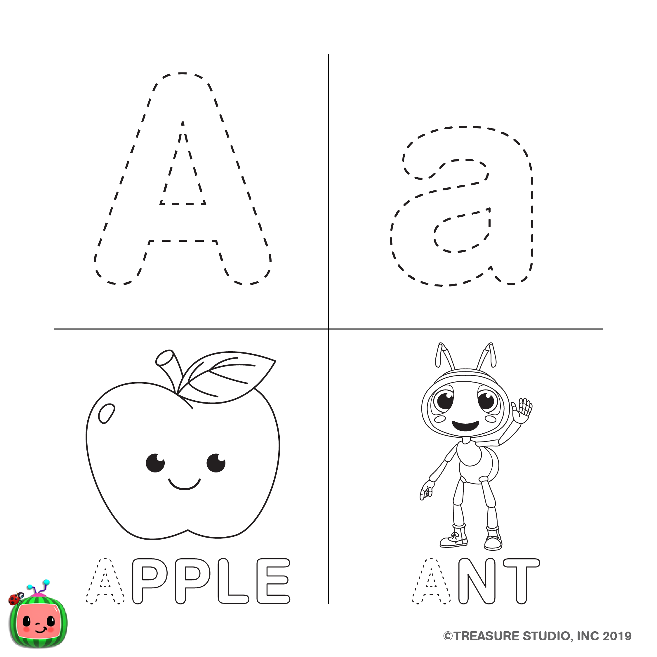 Letter A -