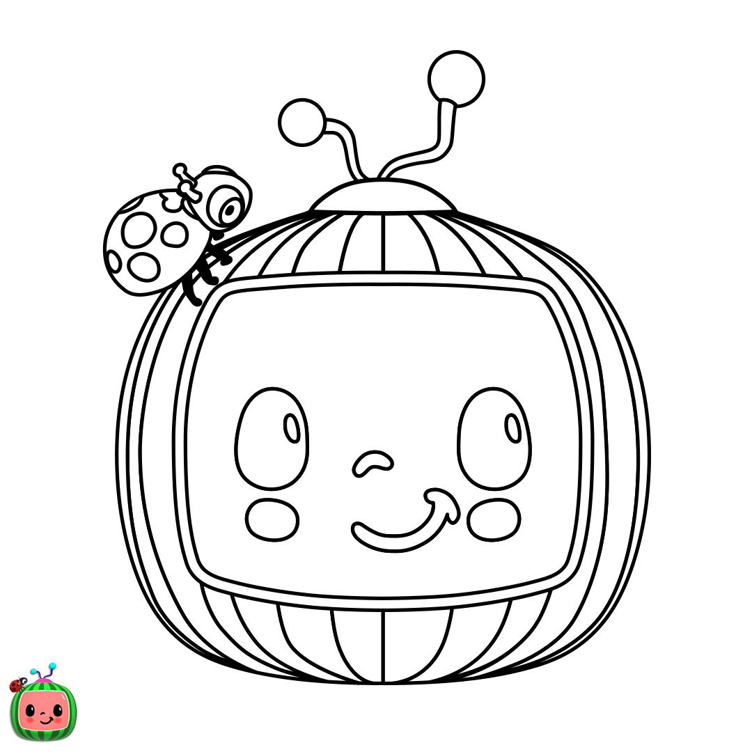 CoCoMelon Logo - Released on August 3rd in celebration of National Watermelon Day!