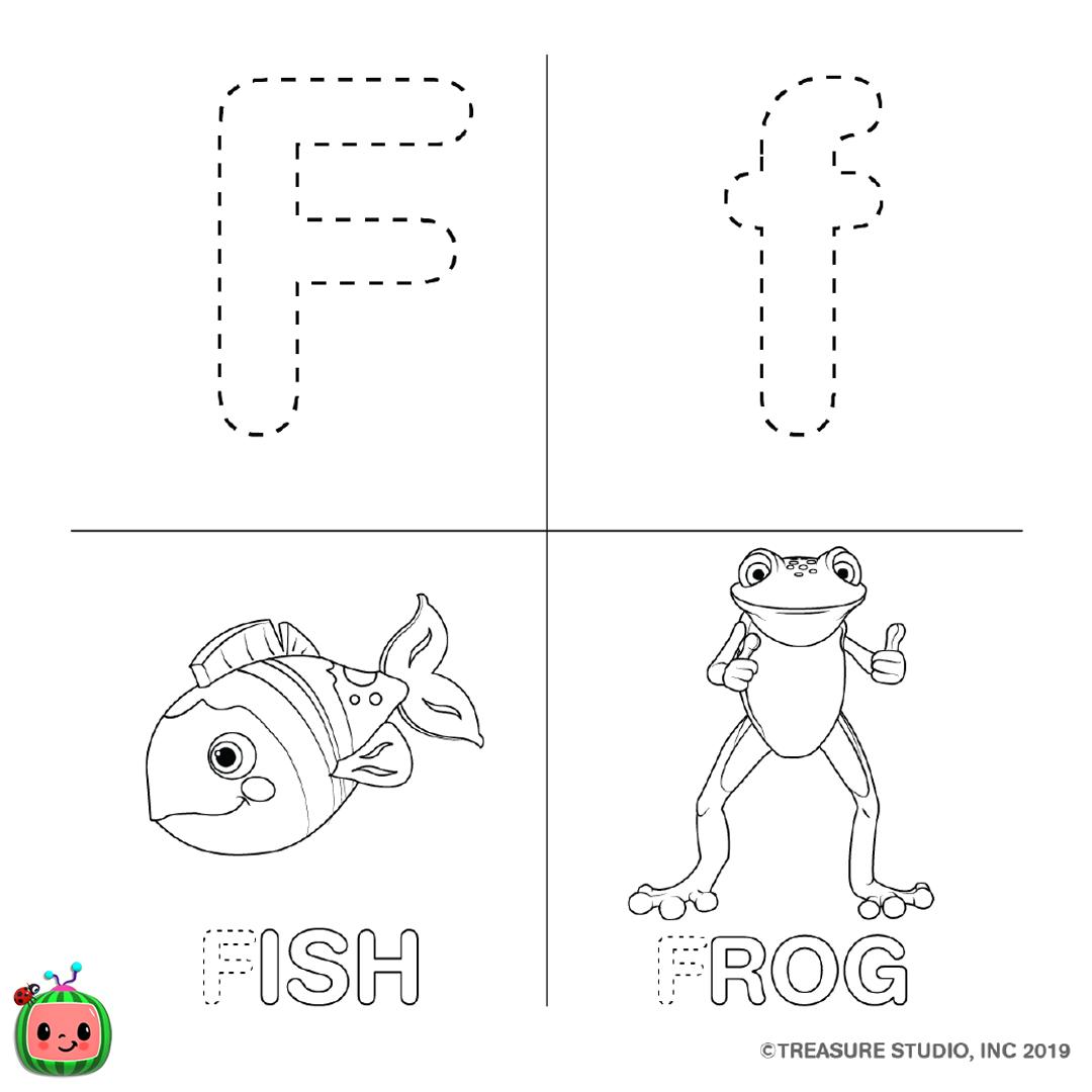 ABC Coloring Pages — cocomelon.com