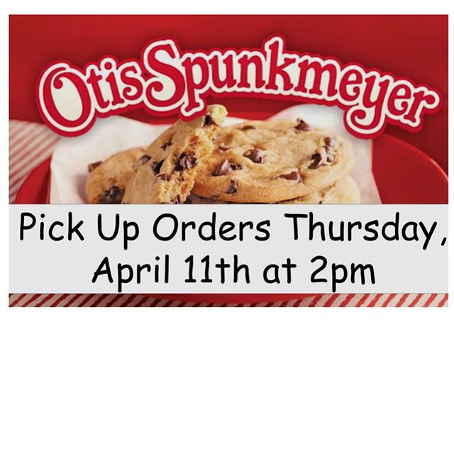 Pick up Time!!! ⏰  The Otis Spunkmeyer Cookie Dough & More delivery date is Thursday, April 11th. Please make arrangements to have orders picked up from the school gym between 2 and 6 pm. Most orders contain items that require refrigeration so pickup at 2 pm is encouraged.  Drive through pickup hours are from 2pm to 3pm and again from 3:45pm to 6 pm. Pickup between the hours of 3pm and 3:45pm will be walk up only to prevent interference with dismissal.  If there are circumstances preventing timely pickup of your delivered item please let us know as soon as possible.  Questions and concerns about your order or delivery details should be directed to brillptofundraising@gmail.com