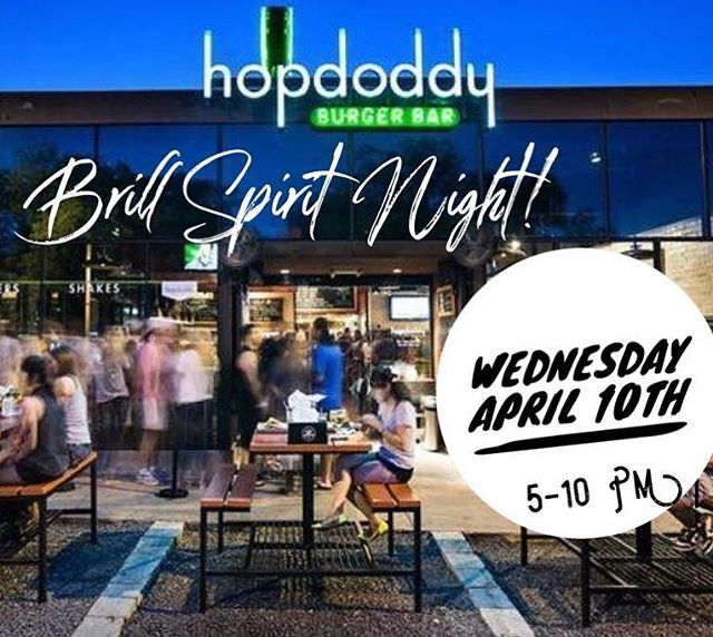 We have another awesome Spirit Night lined up for tomorrow at @hopdoddy! 🍔 We get thousands of dollars for our school throughout the year from these events and your participation is truly so appreciated! 😘💙💛 #brillpto #brillelementary #brillbroncos #kleinisd #promise2purpose #momentsinklein #ptolife #hopdoddy
