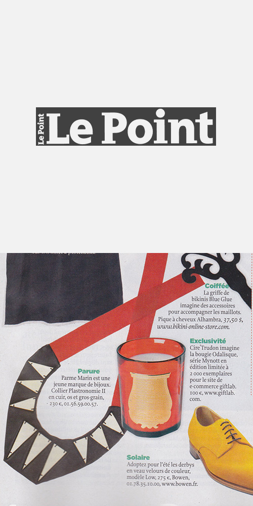 LE POINT - AUGUST 2013